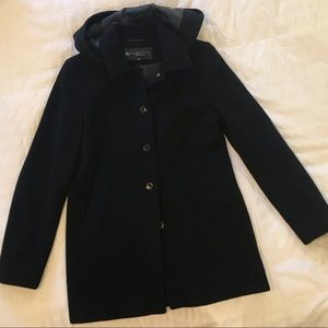 Kenneth Cole Reaction 2 black peacoat